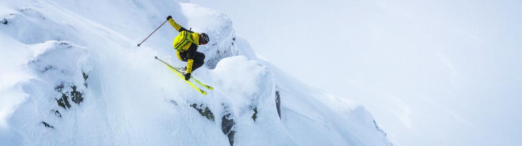 Die Spezialisten fürs Gelände: Freeride-Ski bis 120mm