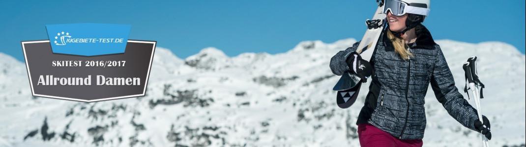 Skitest Damen Allround 2016/2017