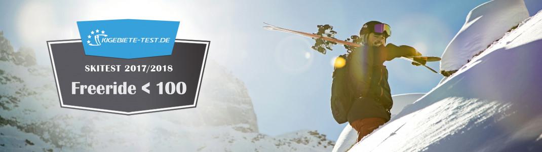 Skitest 2017/2018: Freeride bis 100mm