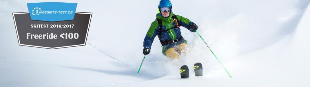 Skitest 2016/2017 Freeride unter 100mm