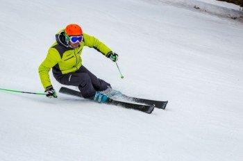 Der Skitest am Katschberg.