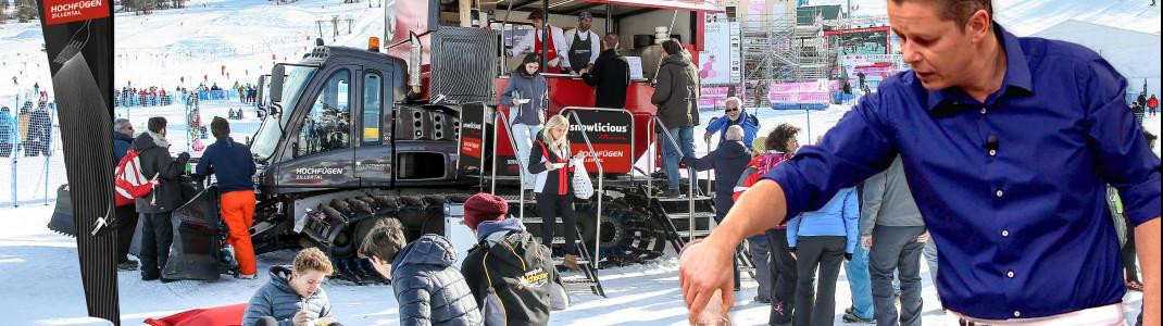 SNOWLICIOUS vereint Pistenspaß, Gaumenfreuden und Entertainment.