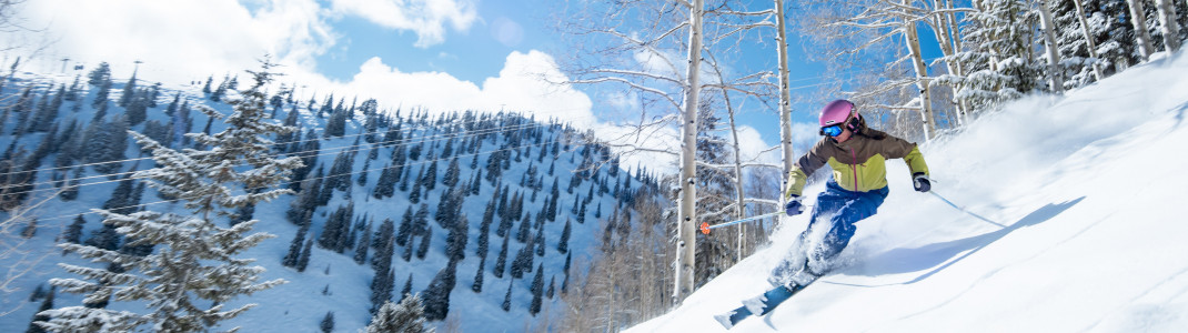 Aspen Mountain is one of the best ski resorts for tree skiing, offering tons of double black diamond runs.