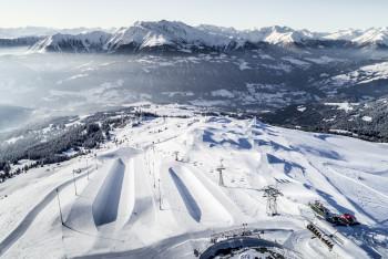 Die Halfpipe gehört zu den Snowpark Klassikern.