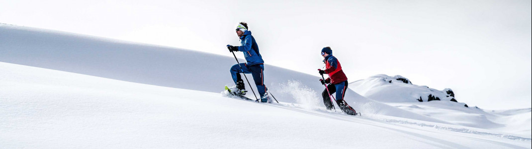 Snowshoeing is becoming more and more popular!
