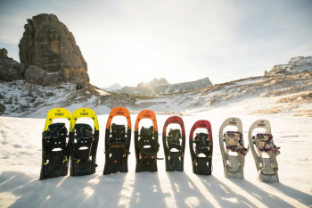 The choice of snowshoes has become very diverse.