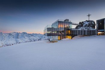 """Das Gourmet-Restaurant """"Ice Q"""" auf dem Gaislachkogl war Drehort für den James-Bond-Film """"Spectre"""""""