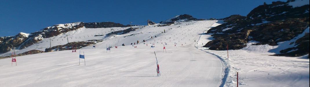 Im Sommer sind auch immer wieder Profiteams am Mölltaler Gletscher zu Gast.