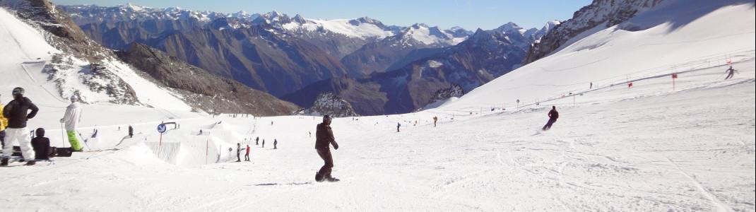 20 Pistenkilometer erwarten dich im Sommer am Hintertuxer Gletscher.