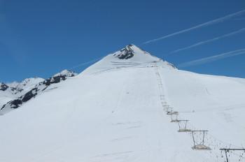 Die Geisterspitze ist der höchste Punkt im Skigebiet am Stilfser Joch.