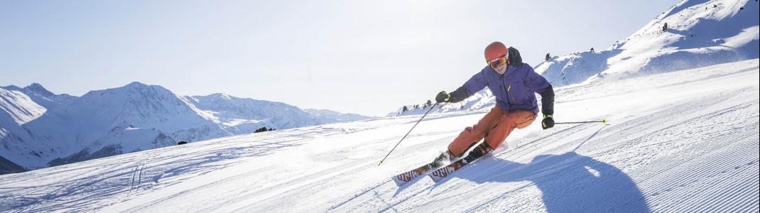 In Südtirol erwartet dich Pistenspaß bis in den Mai.