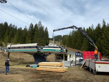 Die Bauarbeiten für die neue Kapellenbahn laufen bereits.
