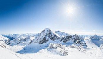 Der Stubaier Gletscher gehört zu den schönsten Skigebieten in den Alpen.