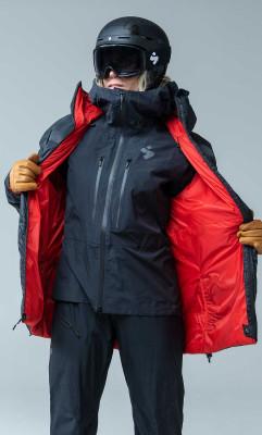 Bei der Supernaut Down Jacket handelt es sich um eine praktische Wendejacke.