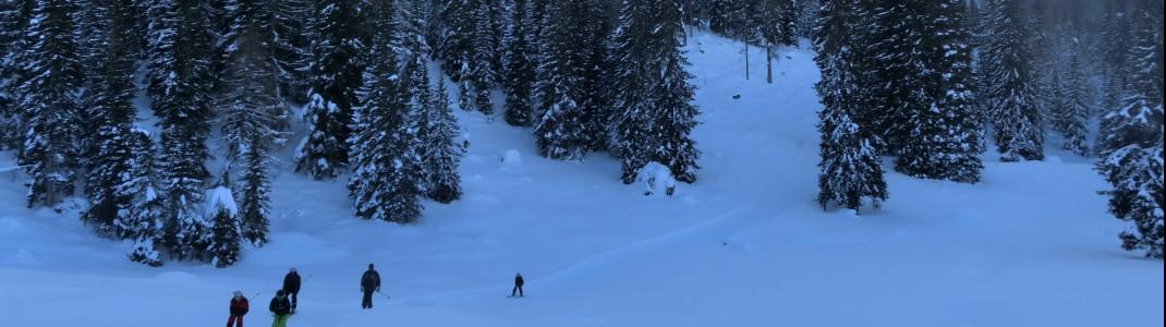 Unser Tipp für Anfänger: der Skiweg UNESCO