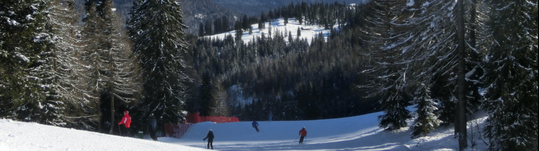 270 Schneekanonen sind an Helm und Rotwand im Einsatz