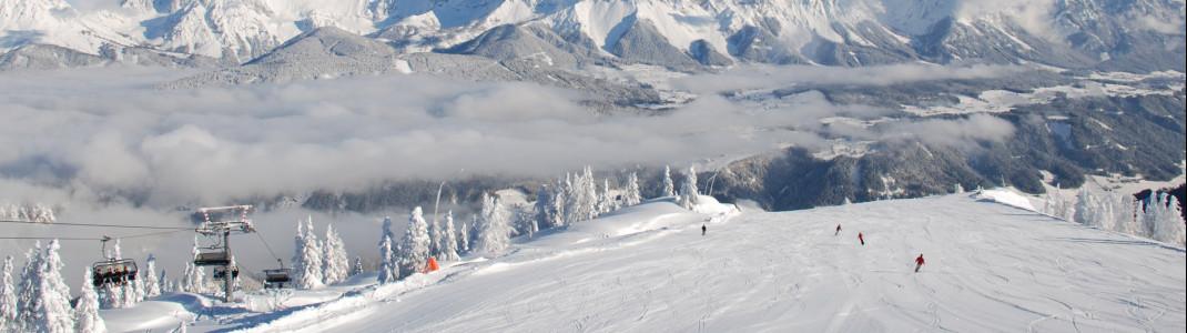 Panorama von der Reiteralm auf das Dachstein Massiv