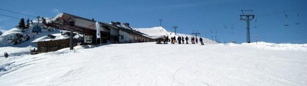 Bergstation Gondel Stoss-Leiterli!
