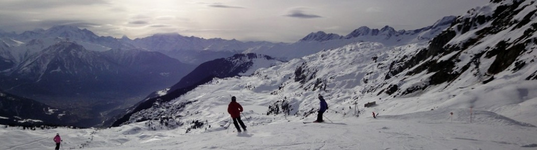 Abfahrt am Schönbiel Lift! Einfache Pisten finden sich an allen wichtigen Liften im Skigebiet.
