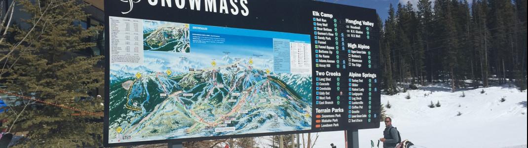 Snowmass ist der größte Skiberg in Aspen