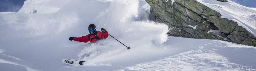 Gastein ist während der gesamten Skisaison schneesicher.