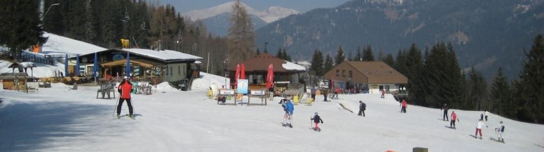 Hütte Waldtratte an der Talstation der Strohsackbahn