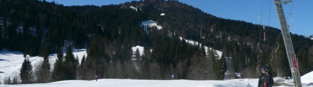 Schwabenhoflift am Übergang zur Riedberger-Hornbahn!