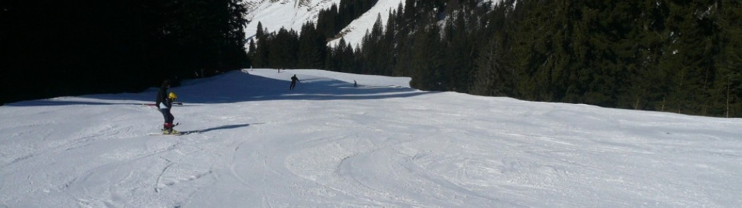 Langeneggabfahrt am Riedberger Horn (1789 m)!