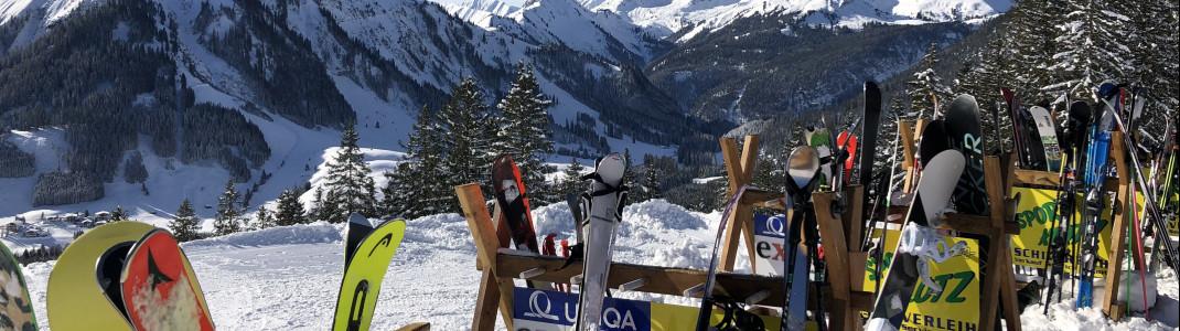 In Berwang gibt es entspannte Après Ski Möglichkeiten.