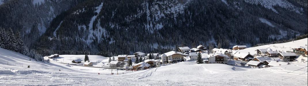 Die Top Snow Card ist in der gesamten Tiroler Zugspitz Arena gültig.