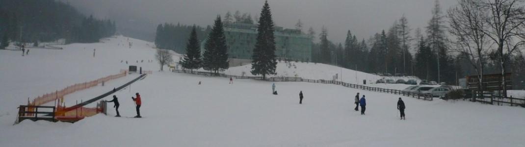Skischule an der Talstation Marienbergbahn I!