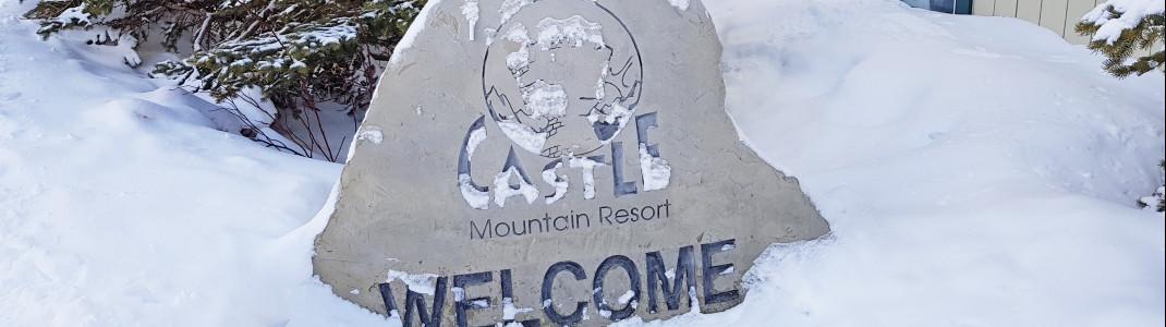 In Castle Mountain ist man auf Neuschnee angewiesen, da es keine Beschneiungsmöglichkeiten gibt.
