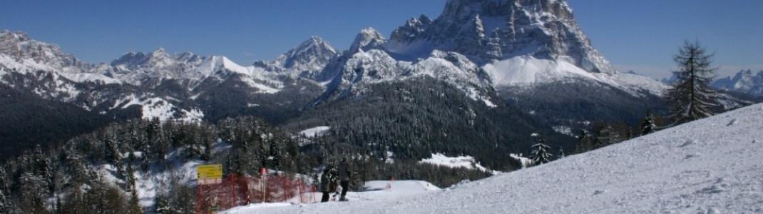 Blick auf den Monte Pelmo (3168m)!