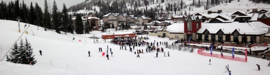Anfänger sollten mit dem American Flyer Lift (nicht mit American Eagle) ins Skigebiet starten, um zu den einfacheren Abfahrten zu gelangen.