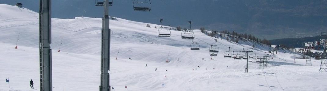 Crans Montana: Skifahren in einer traumhaften Bergwelt zwischen 1500 und 3000 m.ü.N.N