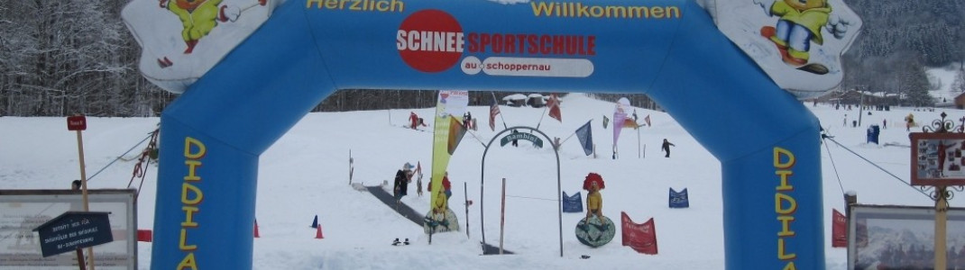 Skisportschule an der Talstation!