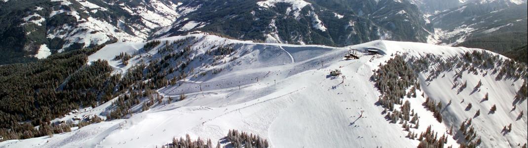 Über 70 Pistenkilometer erwarten Wintersportler in der Skischaukel Dorfgastein - Großarl.