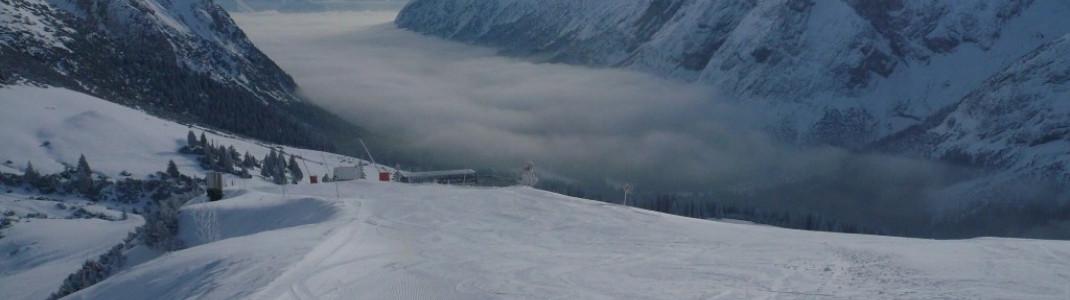 Toller Ausblick vom Issentalkopf (1925 m)!