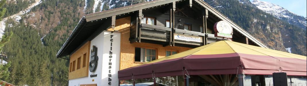 Fünf Bergrestaurants gibt es im Skigebiet
