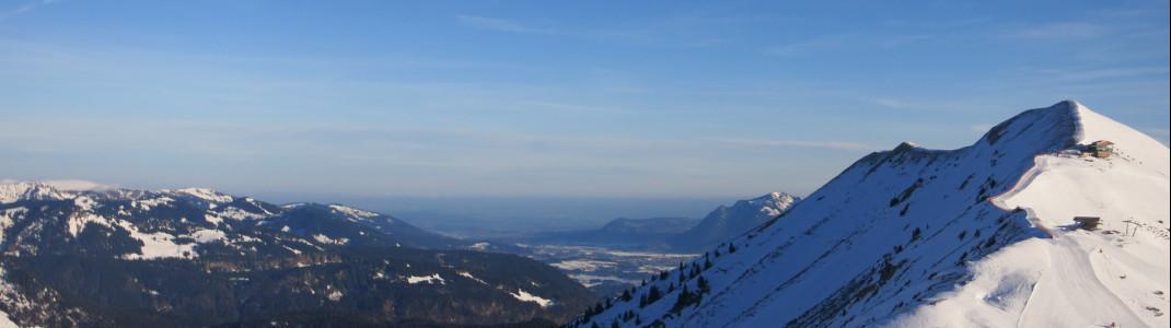 Das skigebiet gilt dank Schneekanonen als realtiv schneesicher