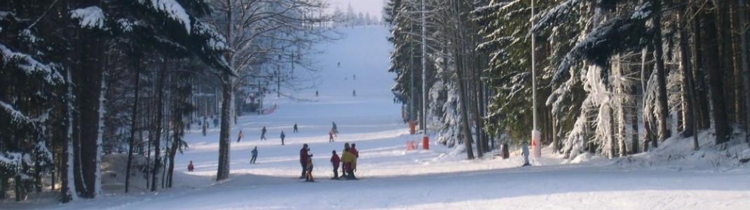 Snowboarder bei einer kleinen Pause