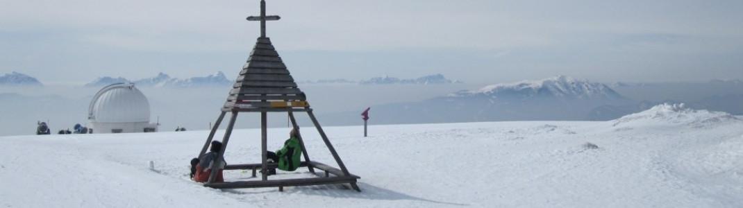 Ausblick von der Bergstation (1911m)!