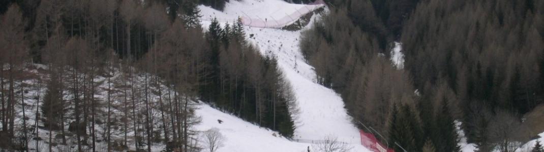 Talabfahrt an der Talstation in Vals!