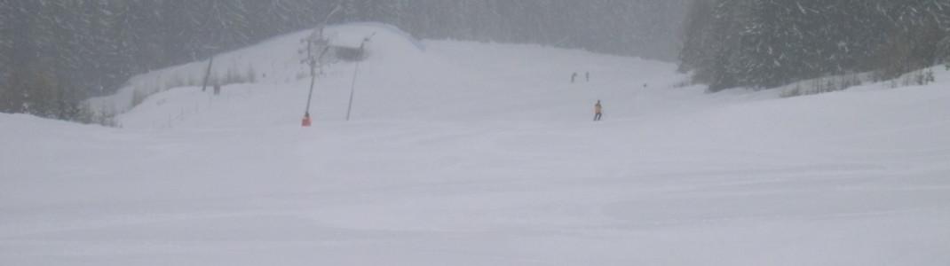 Mit 25 Pistenkilometern befindet sich Goldeck unter den 10 größten Skigebieten in Kärnten.