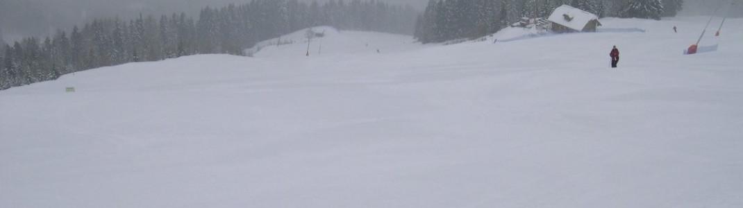 Das Skigebiet Goldeck befindet sich unweit von Spittal an der Drau in Kärnten.