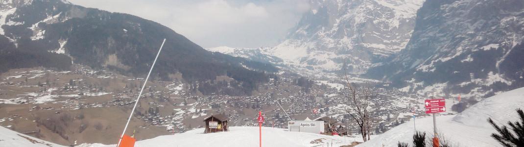 Die drei Talabfahrten Nr. 3, 21 und 22 von der Kleinen Scheidegg zurück nach Wengen werden durchgehend beschneit!