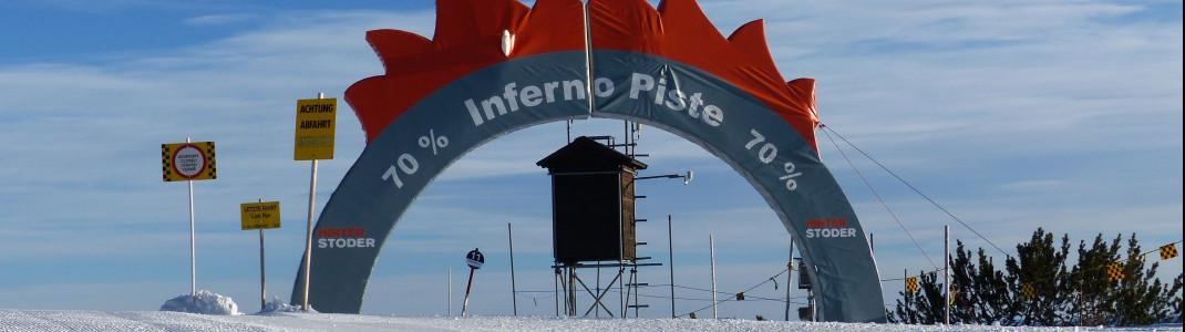 Ein Highlight für alle Könner: die Inferno-Piste