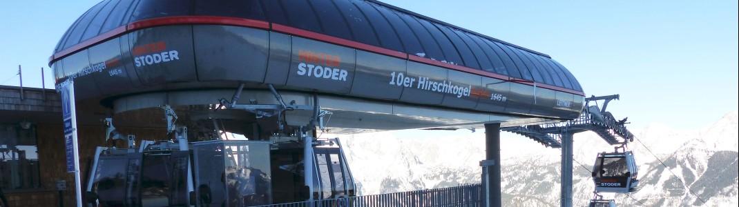 Die Hirschkogelbahn ist die erste 10er-Gondelbahn Oberösterreichs