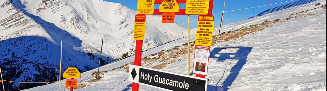 """Das Freeride-Gebiet """"Tres Hombres"""" fordert auch sehr gute Skifahrer!"""