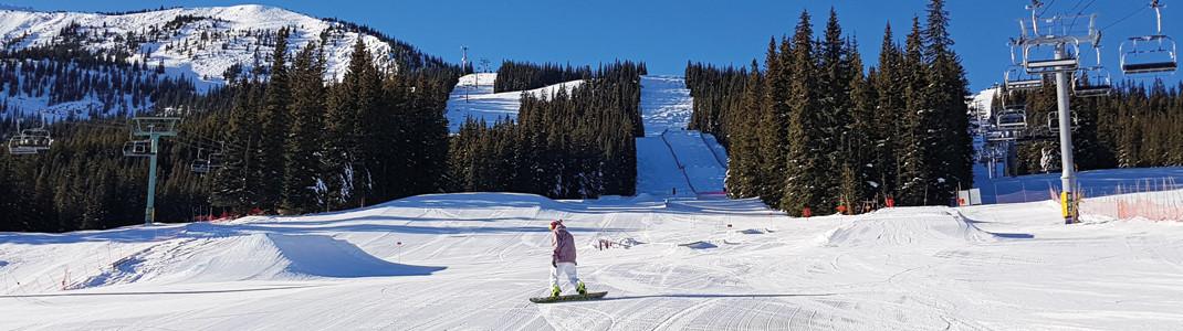 Snowpark an der Talstation